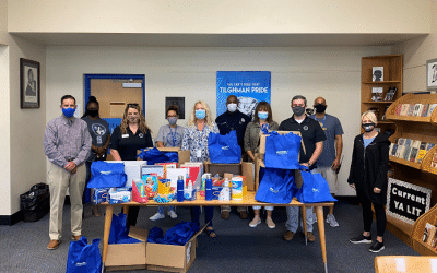 TPM BY UNITED SYSTEMS DONATES SUPPLIES AND PPE TO AREA SCHOOLS